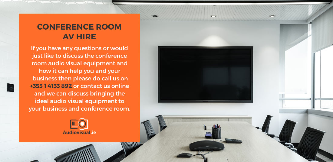 Conference Room AV Hire - Audiovisual Dublin