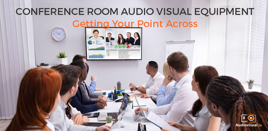 Conference Room Audio Visual Equipment - Audiovisual Rental Dublin