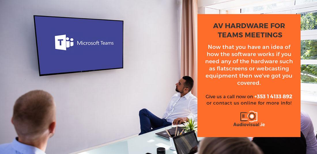 Audio Visual Hardware Microsoft Teams Meetings