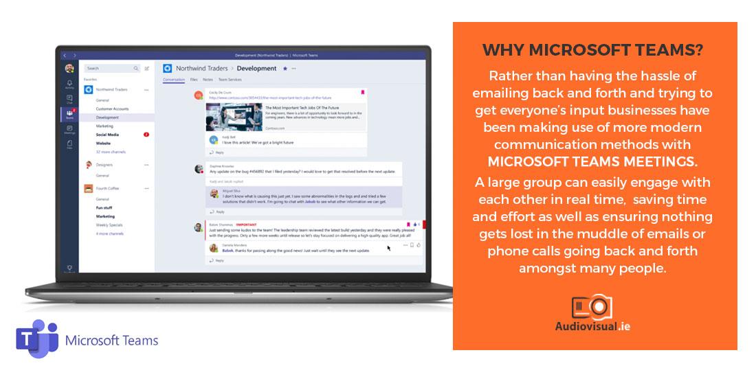 Why Use Microsoft Teams - Audiovisual Ireland