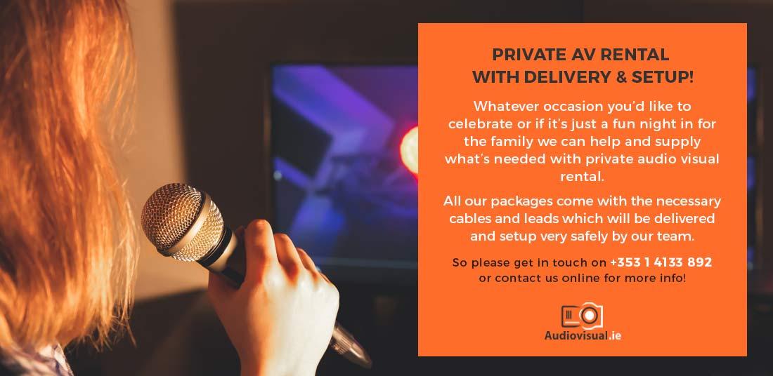 Karaoke Rental - Free Delivery - Ireland