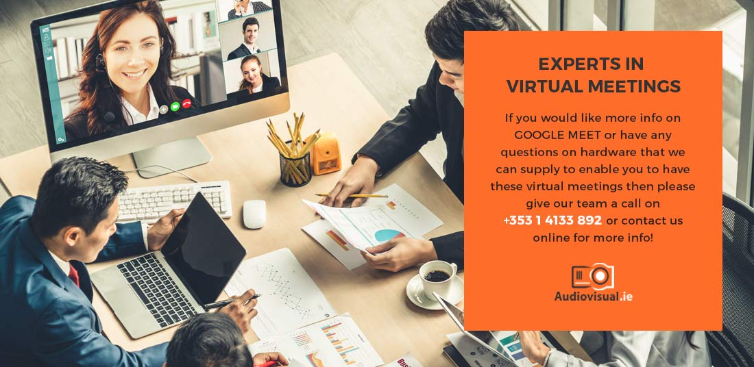 Expert Virtual Meetings - Rental Audiovisual Ireland