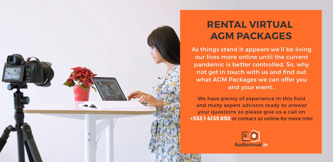 Rental Virtual AGM Packages - Audiovisual Rental Ireland