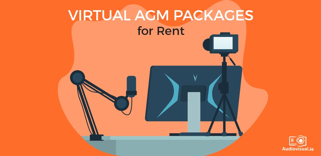 Virtual AGM Packages for Rent - Audiovisual Rental Ireland