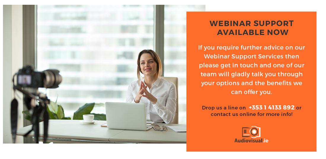 Webinar Support Irish Companies - Audiovisual