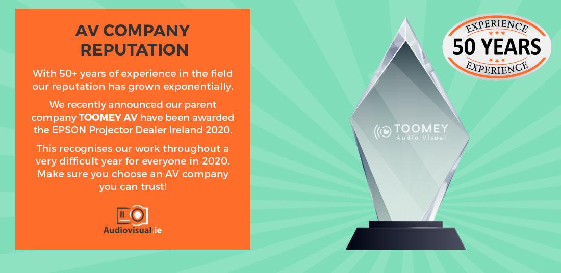 AV Company Reputation Dublin - Audiovisual Company