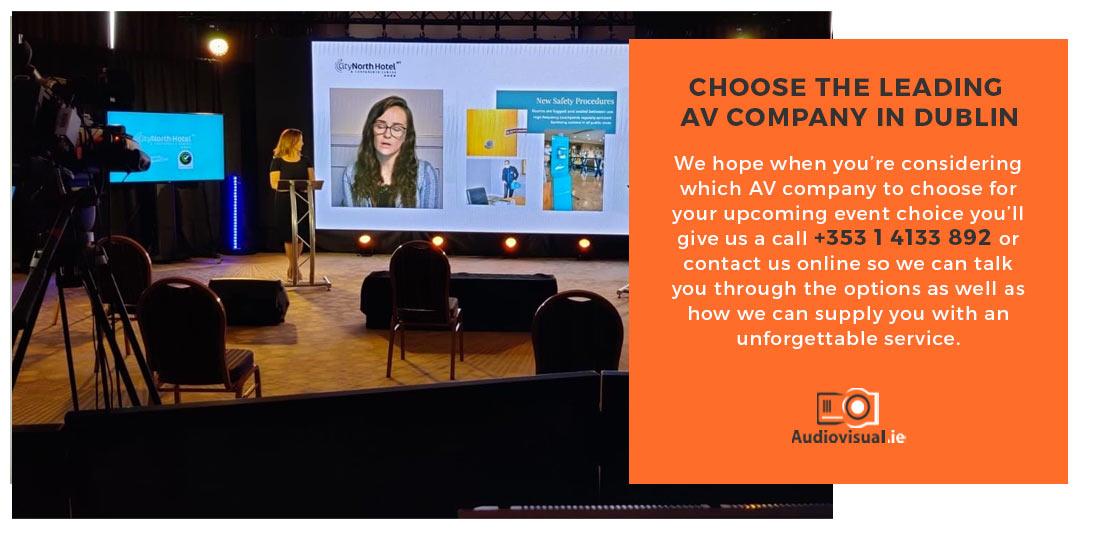 Leading AV Company Dublin - Audiovisual Rental Company