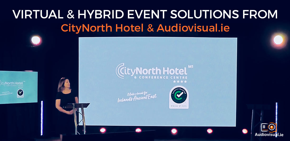 Virtual and Hybrid Event Solutions from CityNorth Hotel - Audiovisual