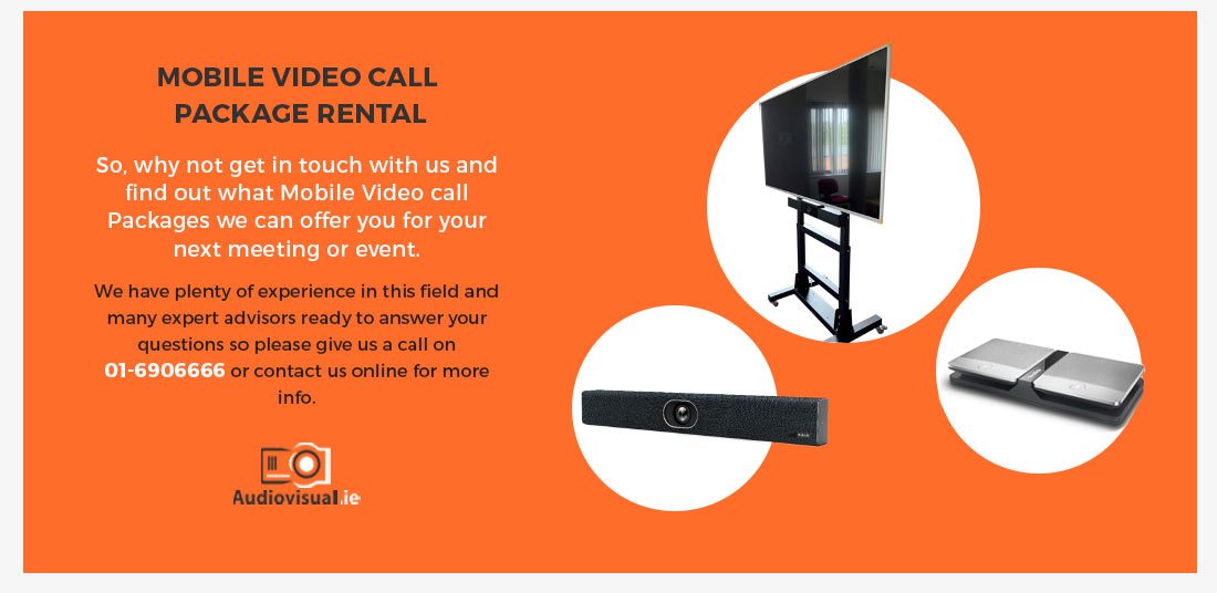 Mobile Video Call Package Rental - Audiovisual