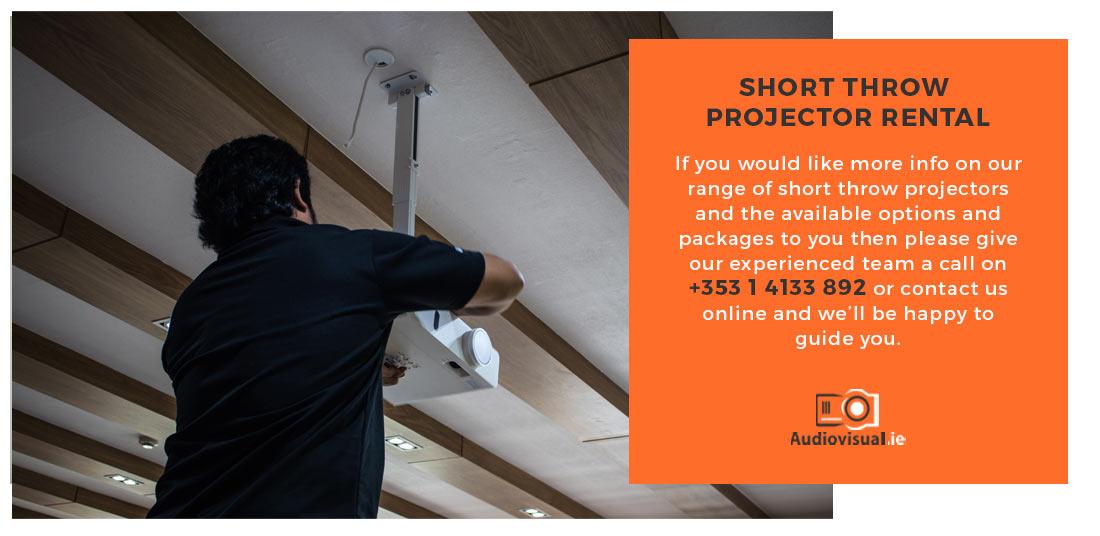 Short Throw Projector Rental Ireland - Conferences