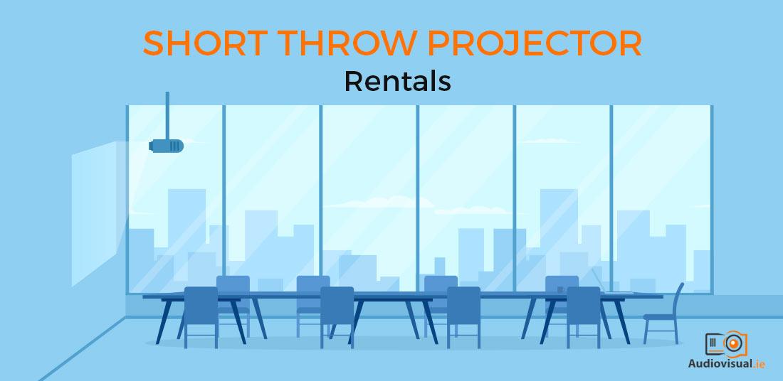 Short Throw Projector Rental Ireland