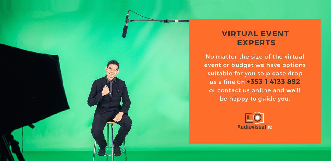 Virtual Event Experts Ireland -Audiovisual
