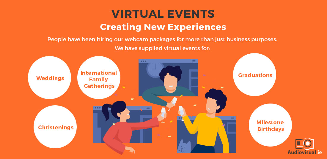Virtual Event Hire Audiovisual for Family Ireland